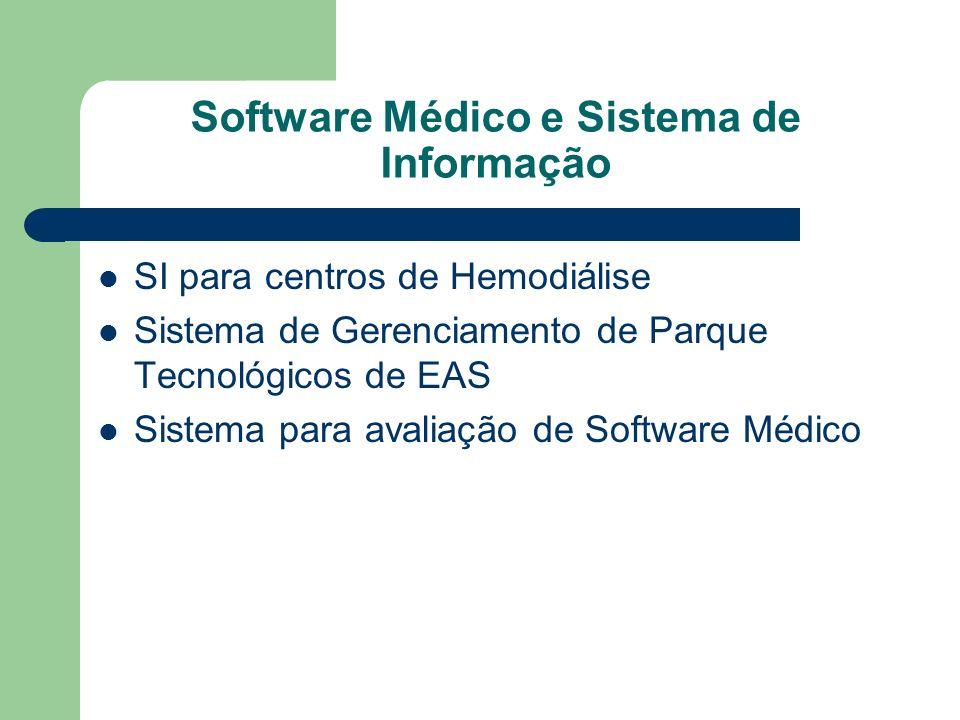 Software Médico e Sistema de Informação