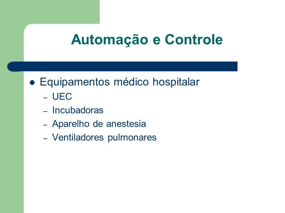 Automação e Controle Equipamentos médico hospitalar UEC Incubadoras