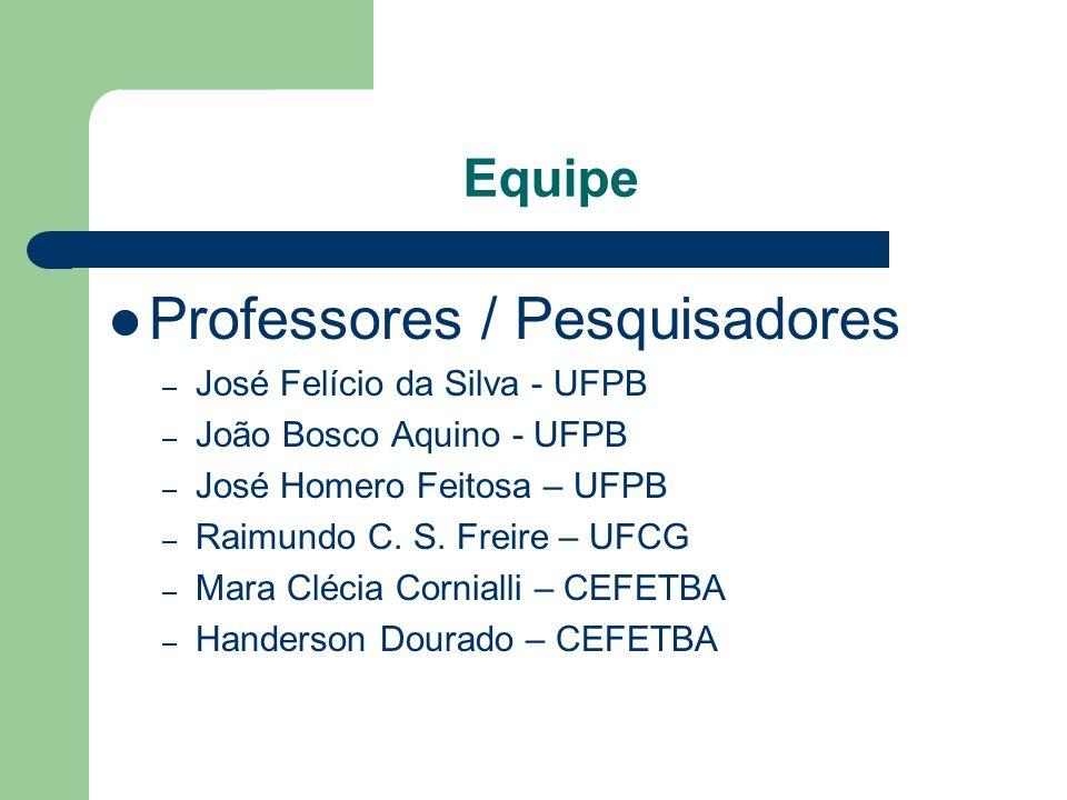 Professores / Pesquisadores