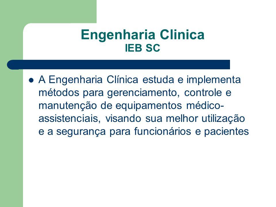Engenharia Clinica IEB SC