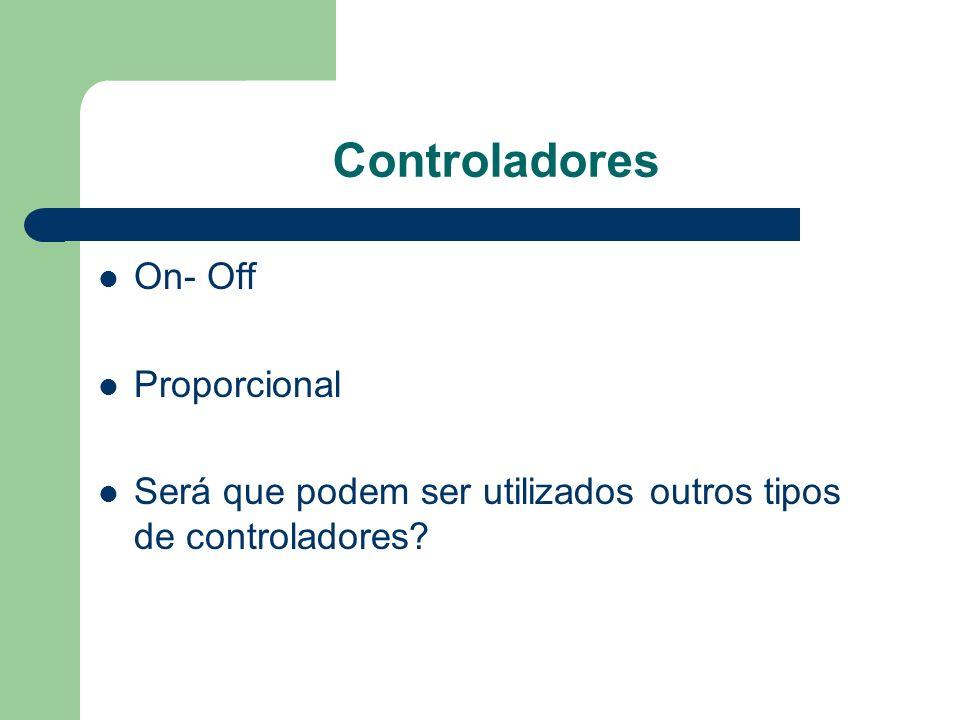 Controladores On- Off Proporcional