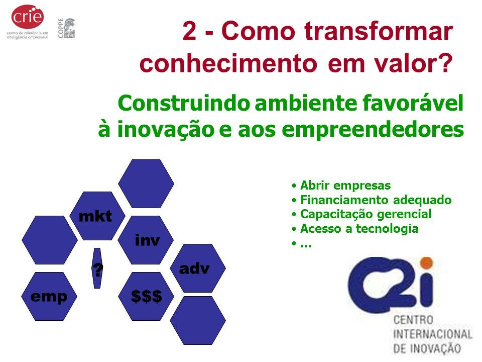2 - Como transformar conhecimento em valor