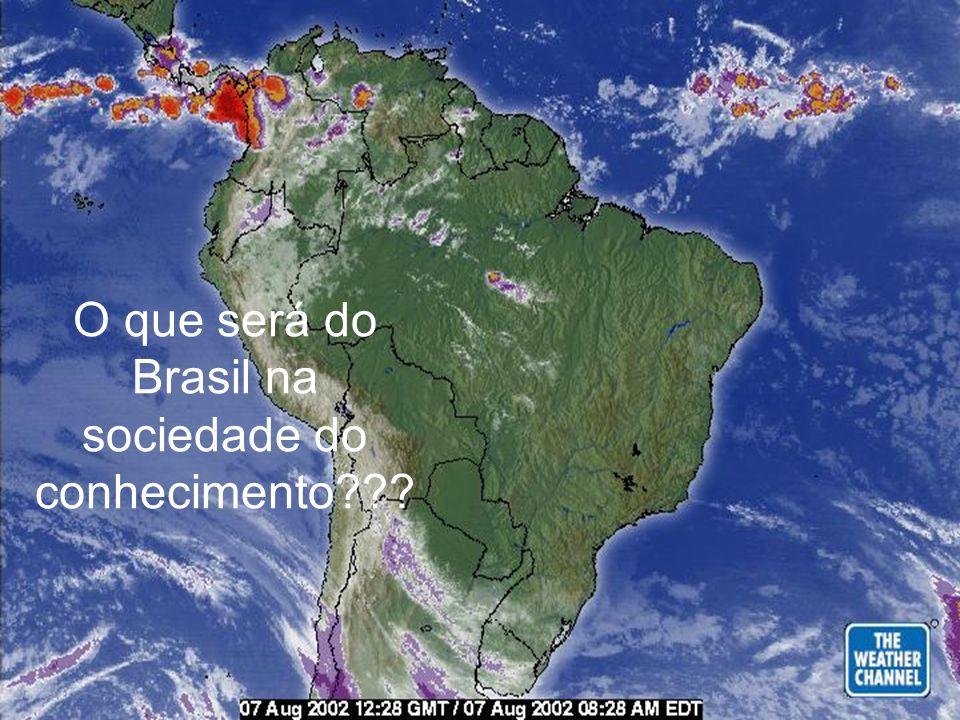 O que será do Brasil na sociedade do conhecimento