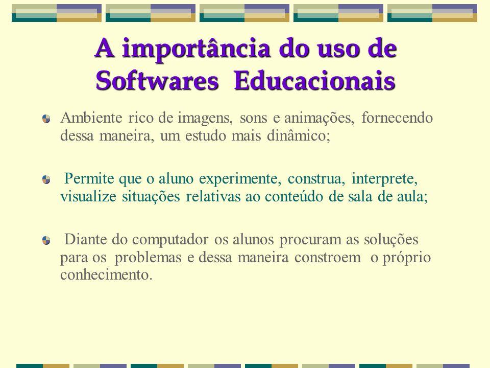 A importância do uso de Softwares Educacionais