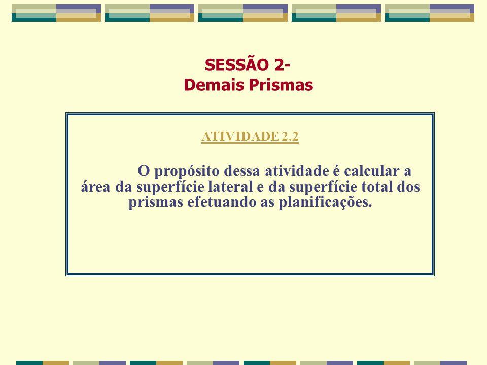 SESSÃO 2- Demais Prismas