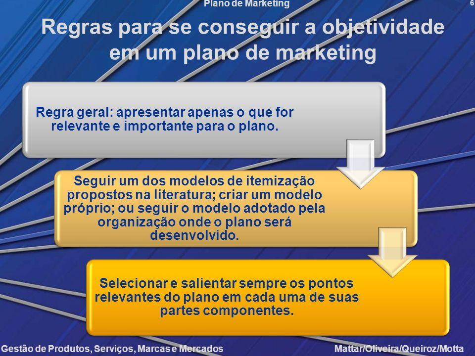Regras para se conseguir a objetividade em um plano de marketing