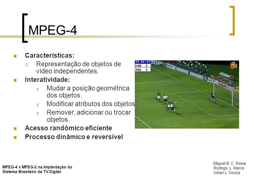 MPEG-4 Características: