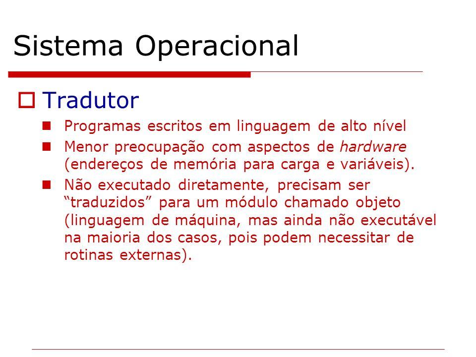 Sistema Operacional Tradutor
