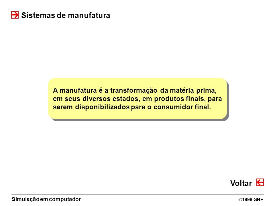 Sistemas de manufatura