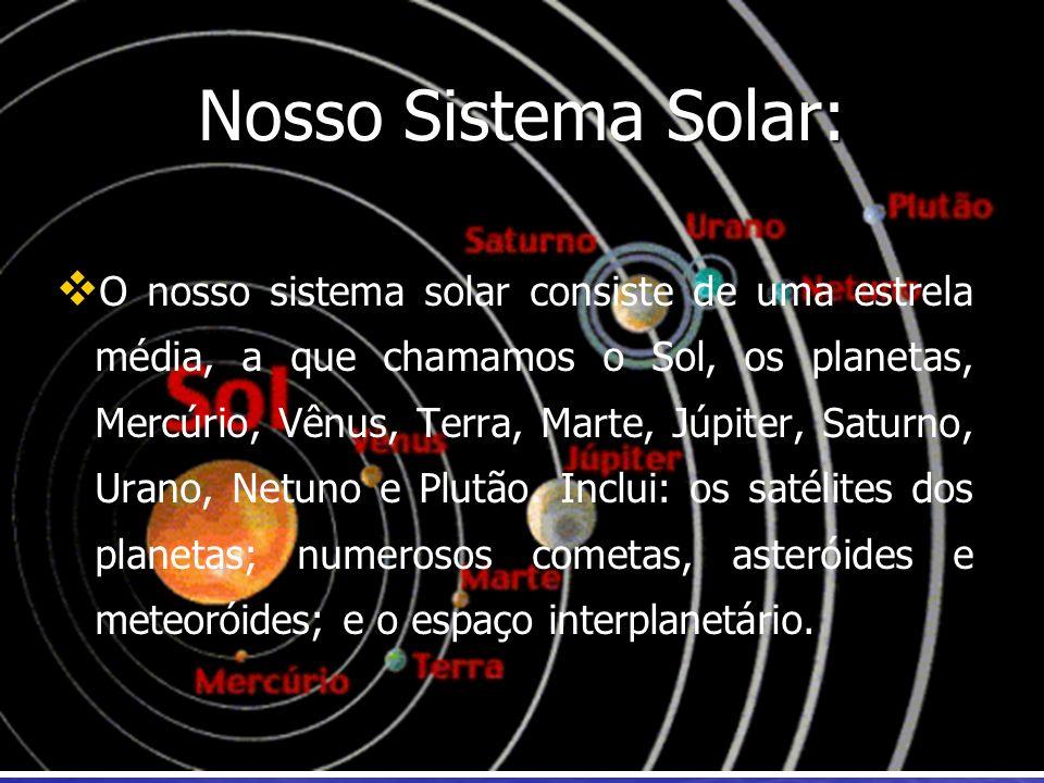 Nosso Sistema Solar: