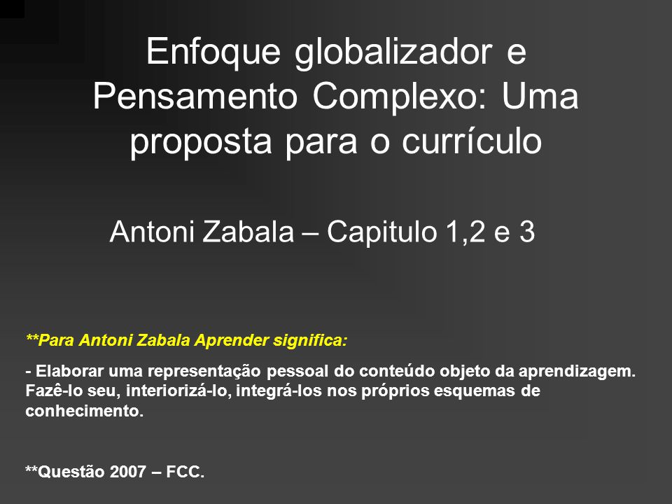 Antoni Zabala – Capitulo 1,2 e 3