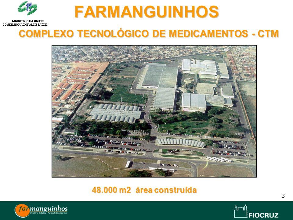 FARMANGUINHOS COMPLEXO TECNOLÓGICO DE MEDICAMENTOS - CTM