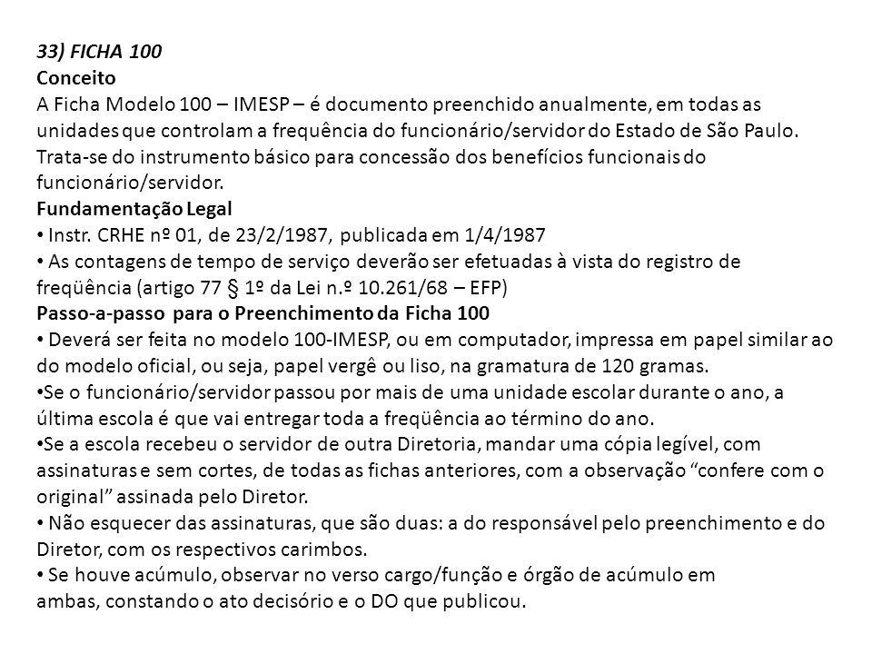 33) FICHA 100 Conceito.
