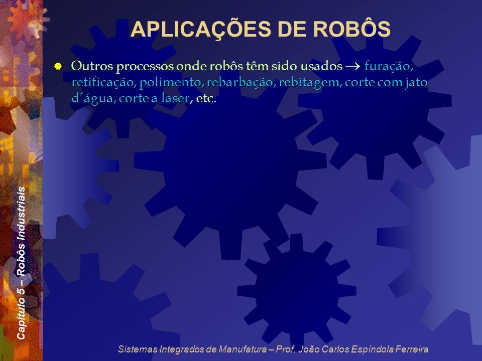 APLICAÇÕES DE ROBÔS