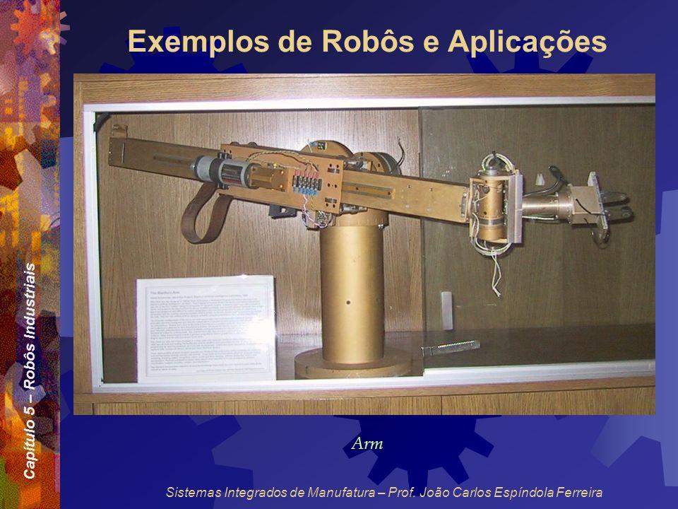 Exemplos de Robôs e Aplicações