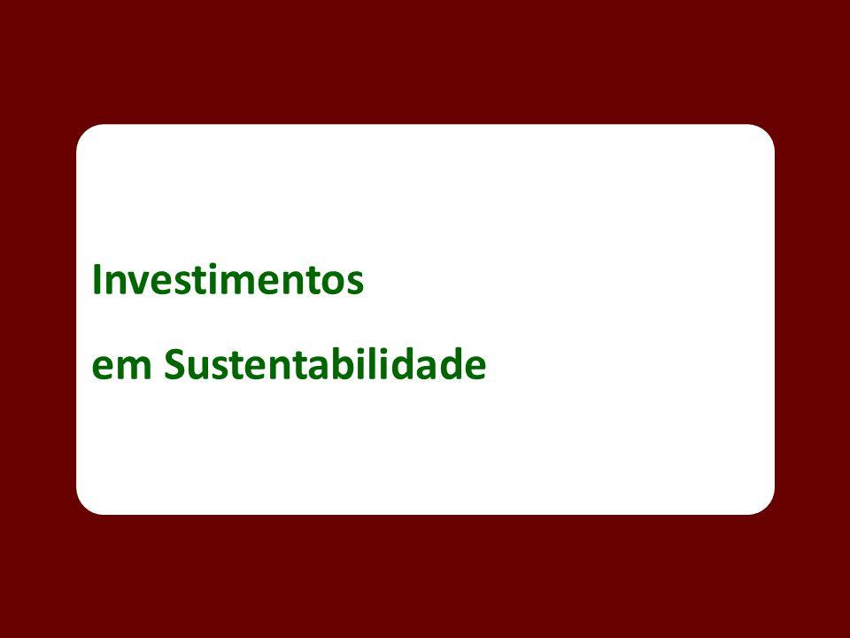 Investimentos em Sustentabilidade