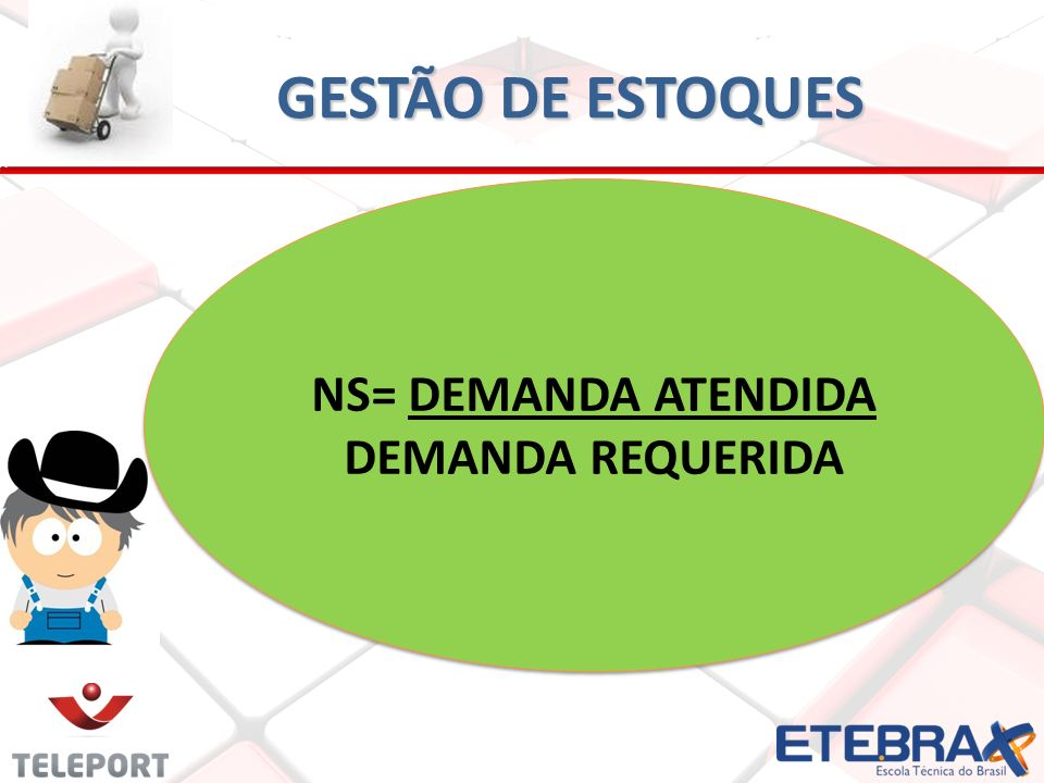 NS= DEMANDA ATENDIDA DEMANDA REQUERIDA