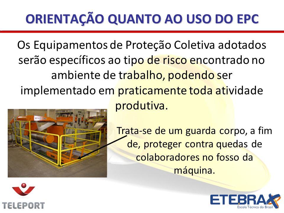 ORIENTAÇÃO QUANTO AO USO DO EPC