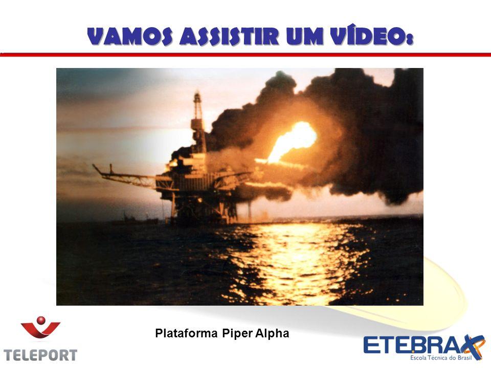 VAMOS ASSISTIR UM VÍDEO: Plataforma Piper Alpha