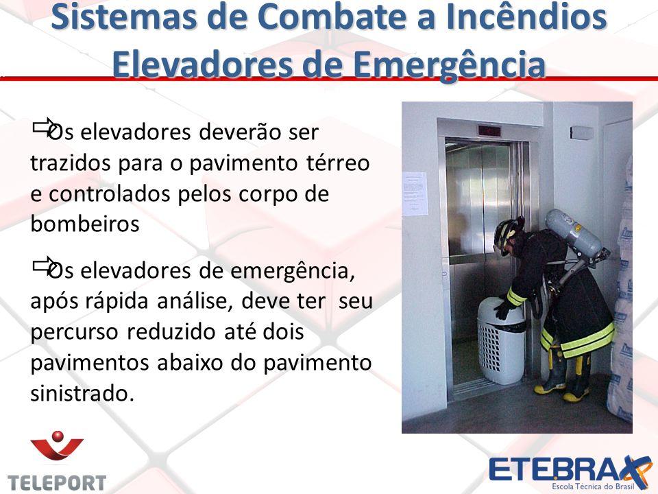 Sistemas de Combate a Incêndios Elevadores de Emergência