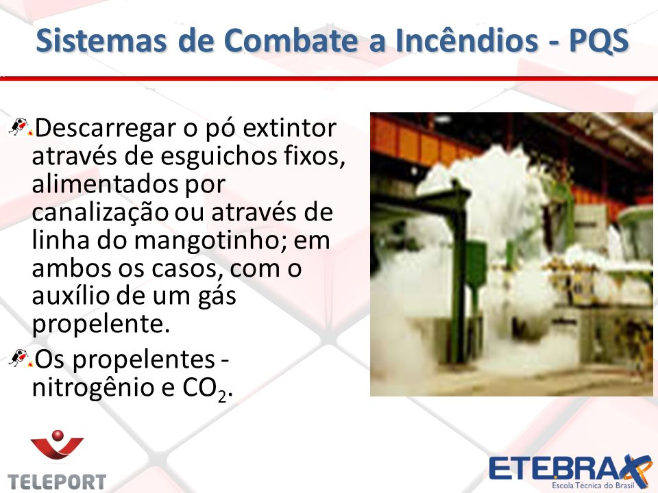 Sistemas de Combate a Incêndios - PQS