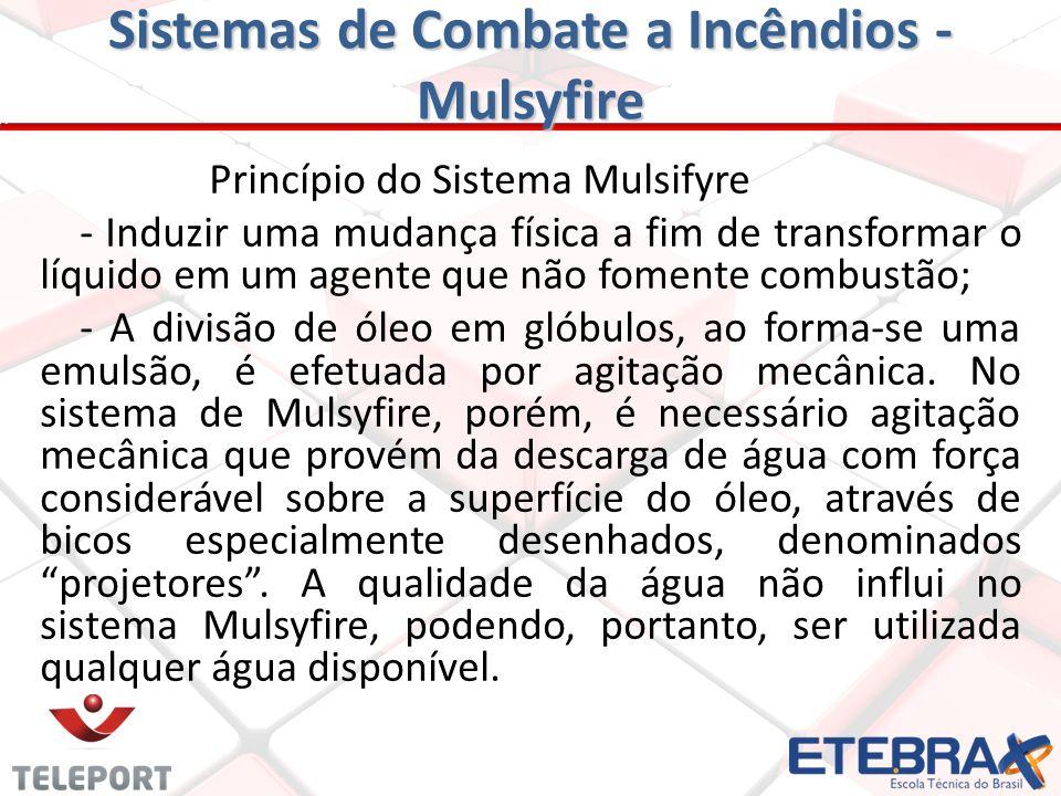 Sistemas de Combate a Incêndios - Mulsyfire