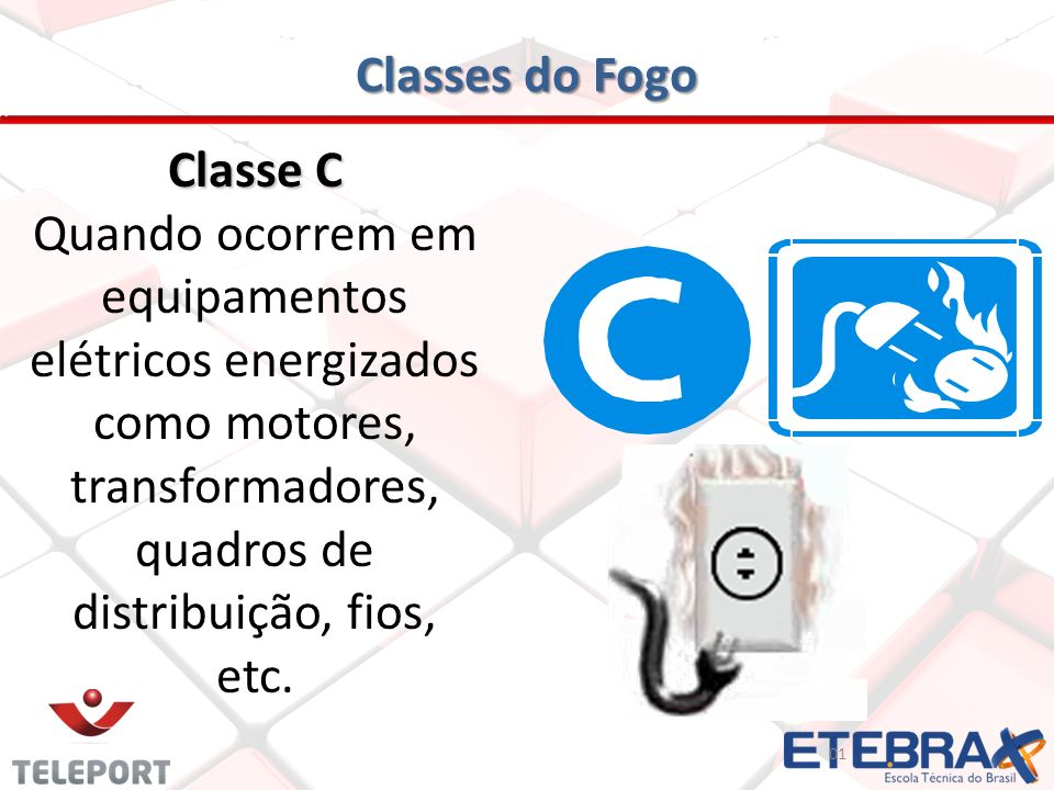 Classes do Fogo Classe C
