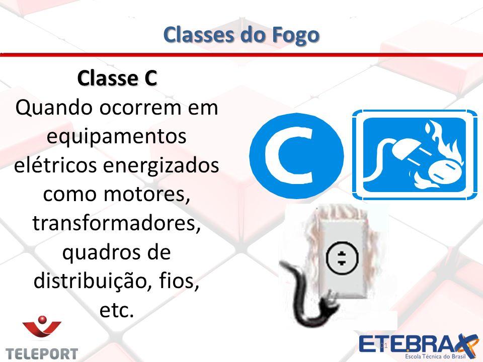 Classes do Fogo Classe C