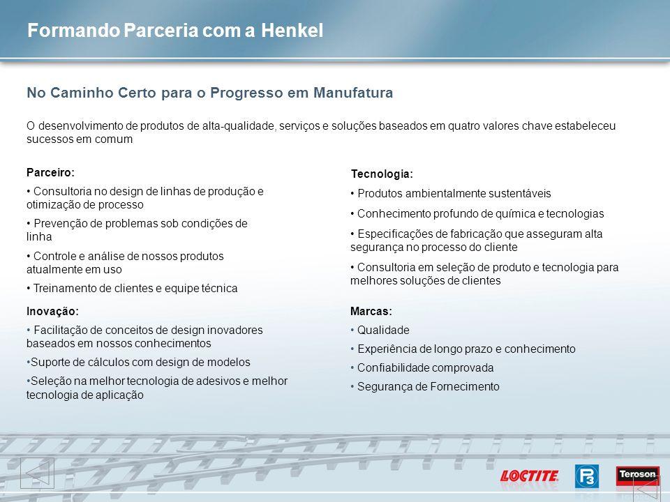 Formando Parceria com a Henkel