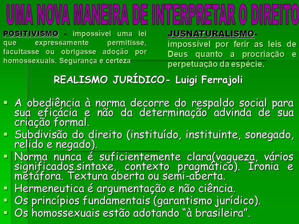 REALISMO JURÍDICO- Luigi Ferrajoli