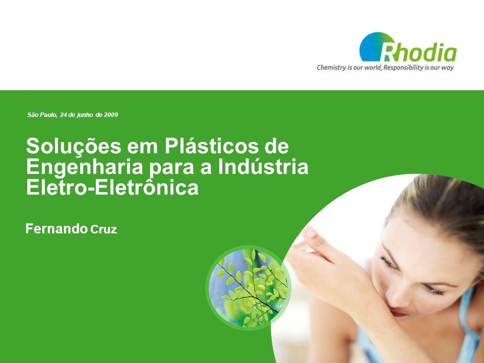 Soluções em Plásticos de Engenharia para a Indústria Eletro-Eletrônica