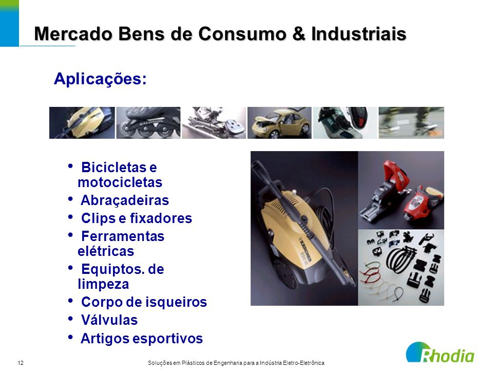 Mercado Bens de Consumo & Industriais