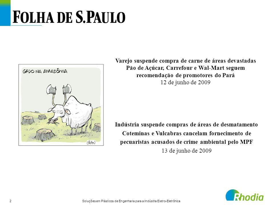 Varejo suspende compra de carne de áreas devastadas