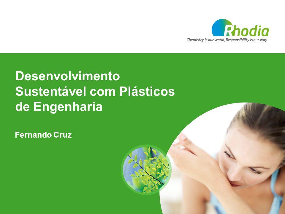 Desenvolvimento Sustentável com Plásticos de Engenharia