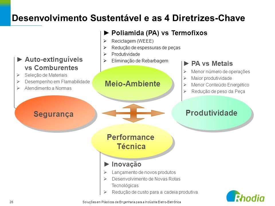 Desenvolvimento Sustentável e as 4 Diretrizes-Chave