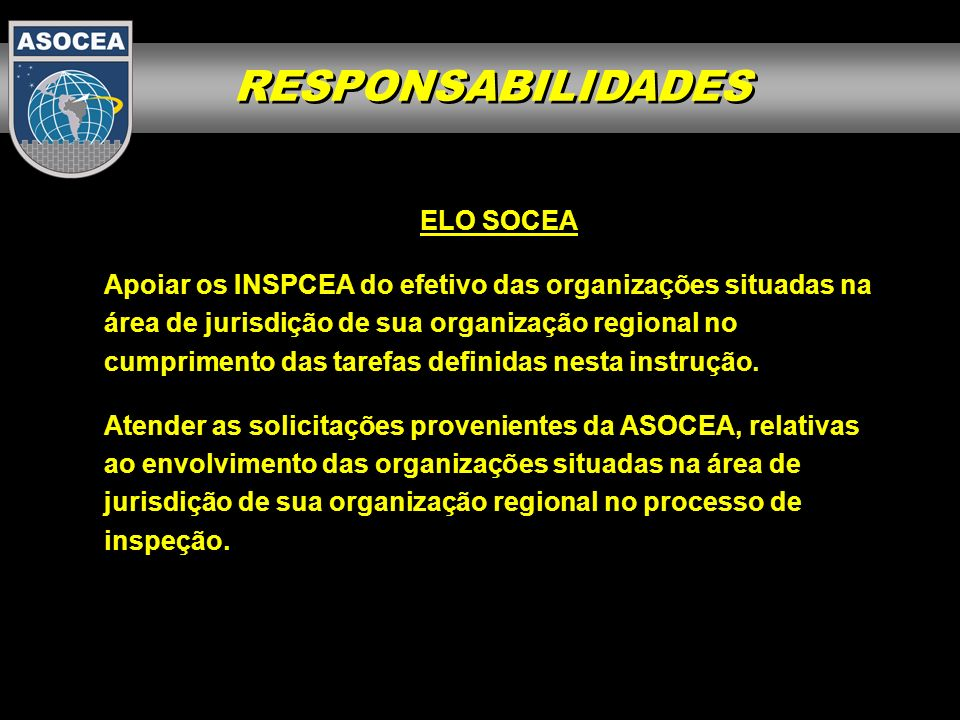 RESPONSABILIDADES ELO SOCEA