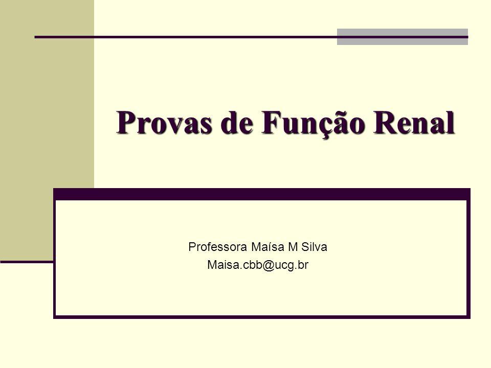 Professora Maísa M Silva Maisa.cbb@ucg.br