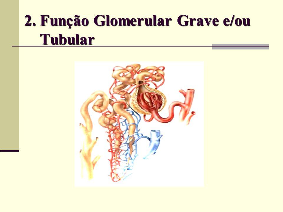 2. Função Glomerular Grave e/ou Tubular