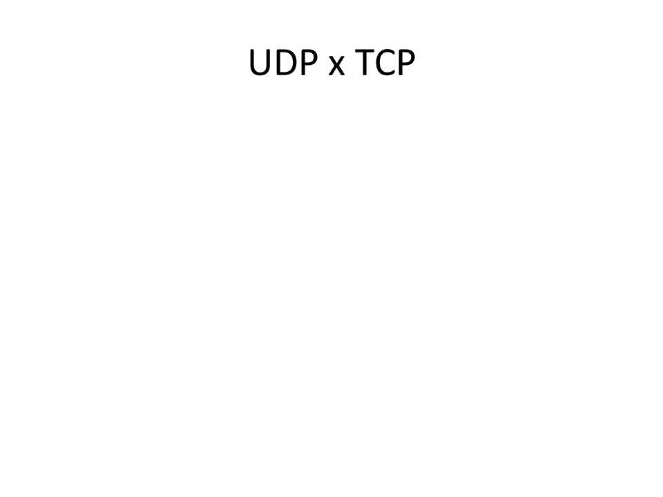 UDP x TCP