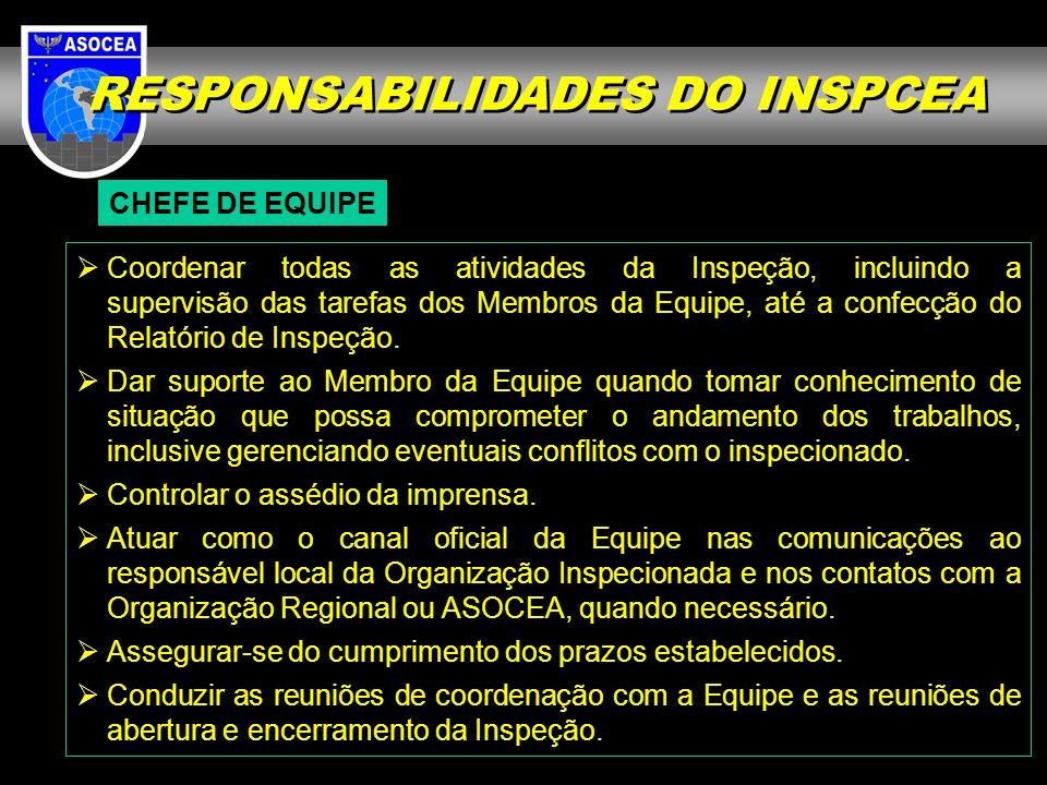 RESPONSABILIDADES DO INSPCEA