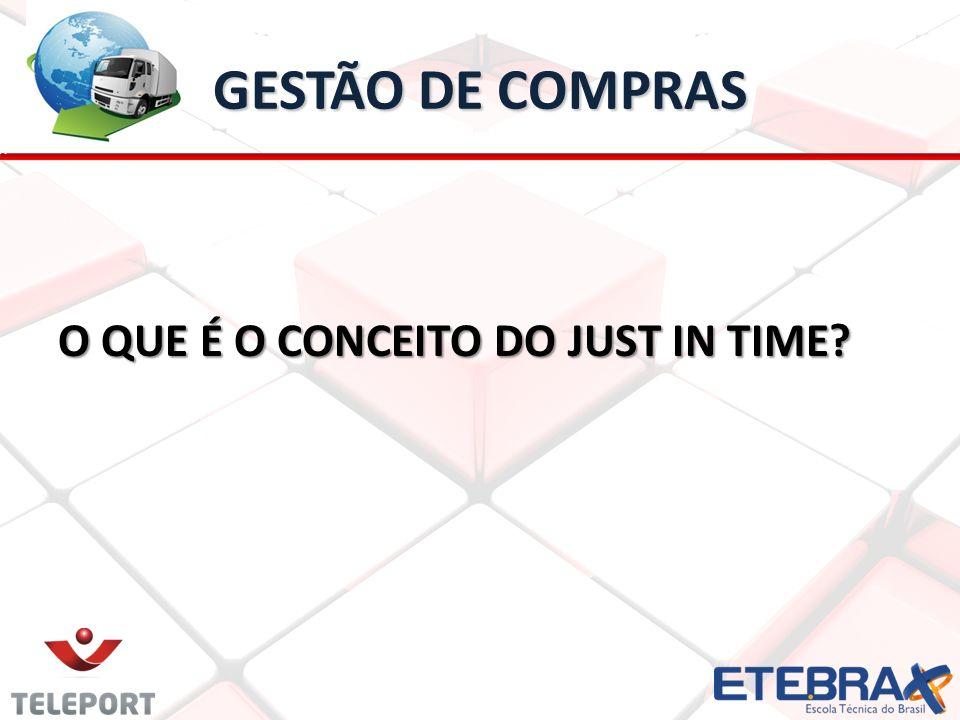 GESTÃO DE COMPRAS O QUE É O CONCEITO DO JUST IN TIME