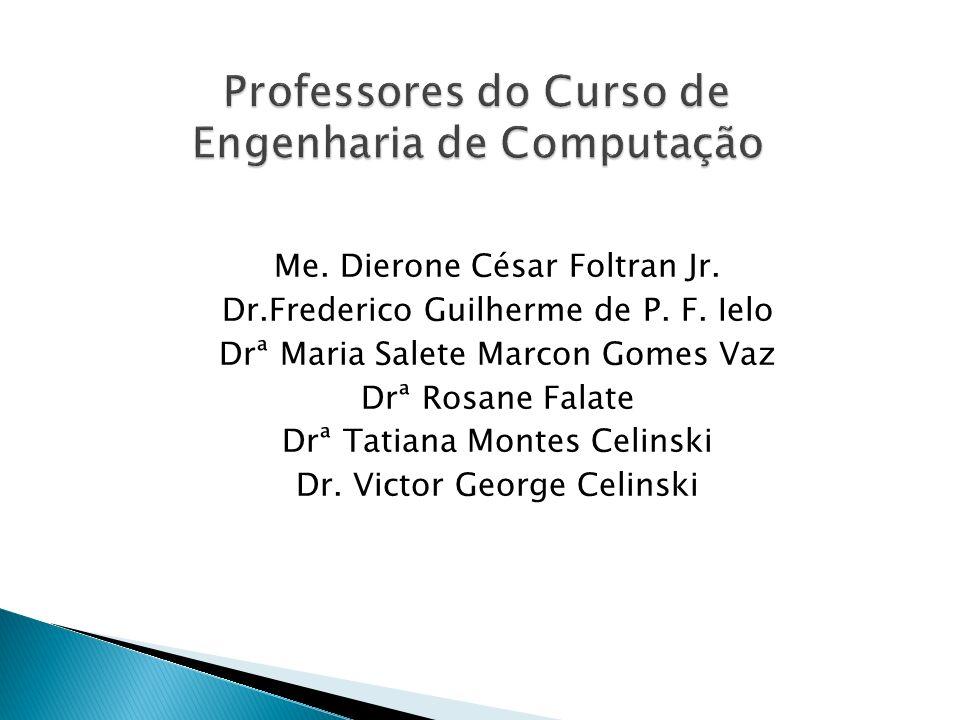 Professores do Curso de Engenharia de Computação