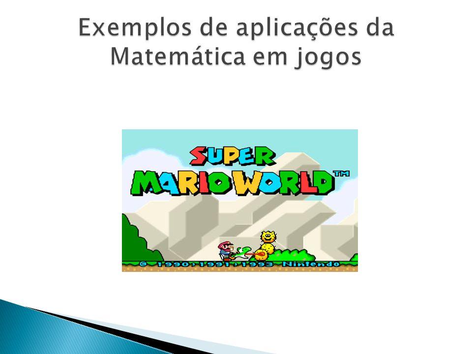 Exemplos de aplicações da Matemática em jogos