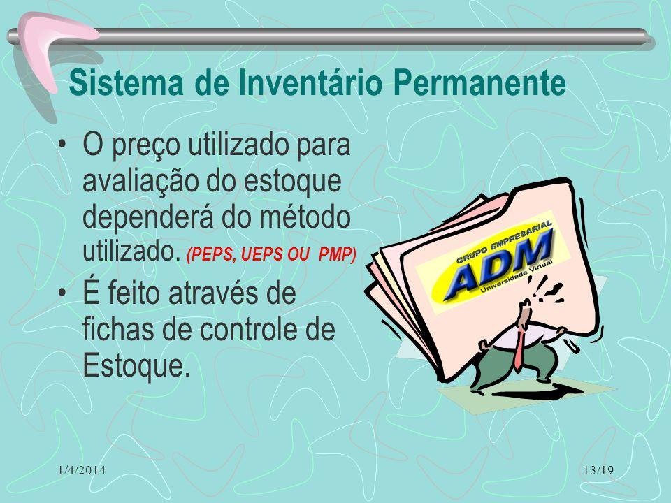 Sistema de Inventário Permanente