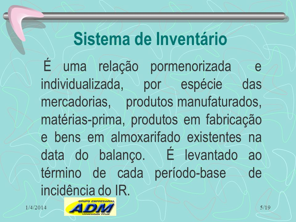 Sistema de Inventário