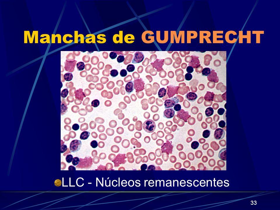 Manchas de GUMPRECHT LLC - Núcleos remanescentes