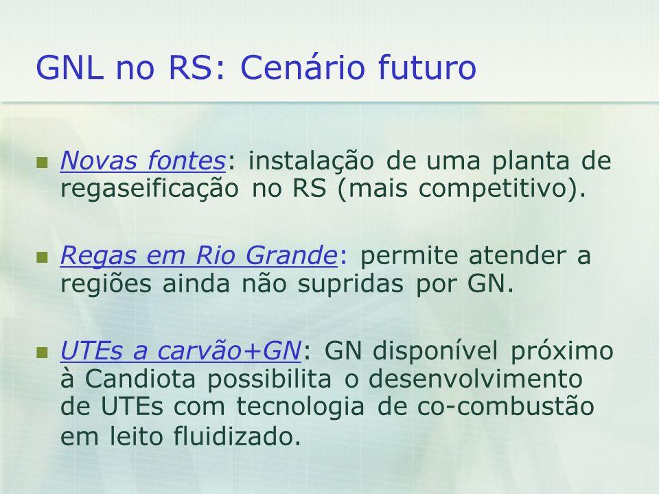 GNL no RS: Cenário futuro