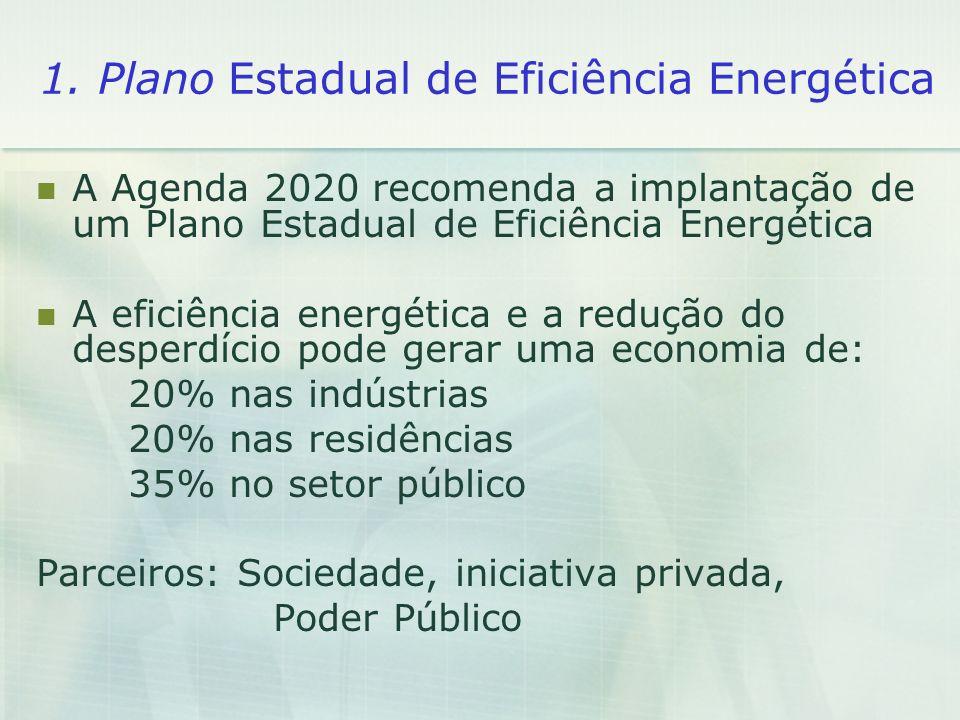1. Plano Estadual de Eficiência Energética
