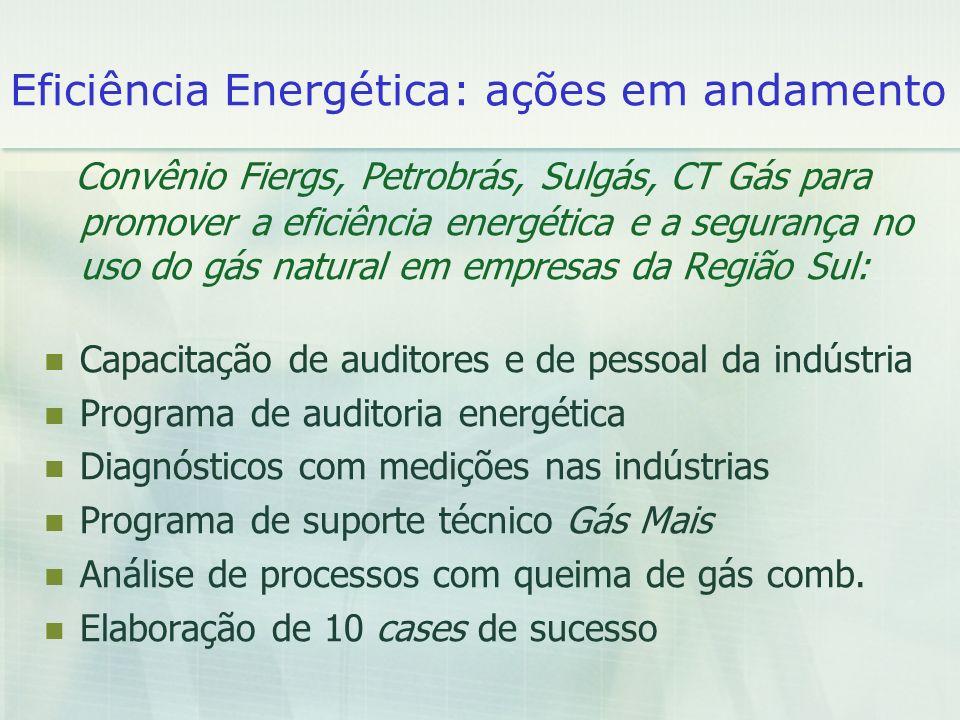 Eficiência Energética: ações em andamento