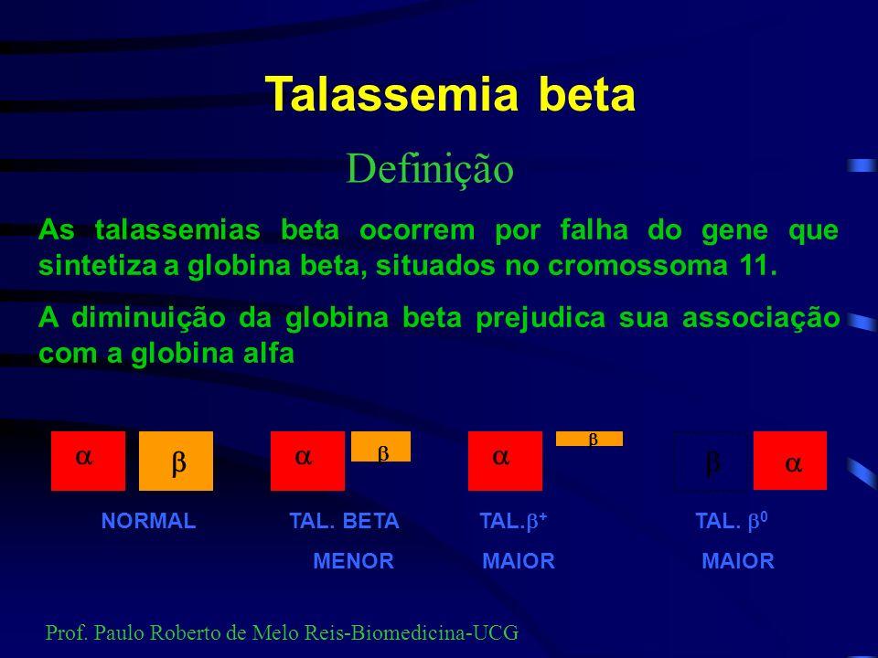 Talassemia beta Definição